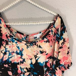 Boutique brand high low blouse